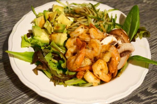 Garnelen Salat von Paleo AIP