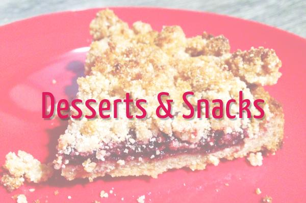 Desserts & Snacks von Paleo AIP